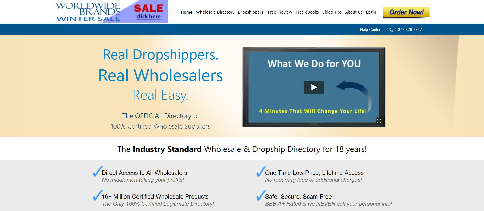 Worldwide brands (Wholesaler suppliers)