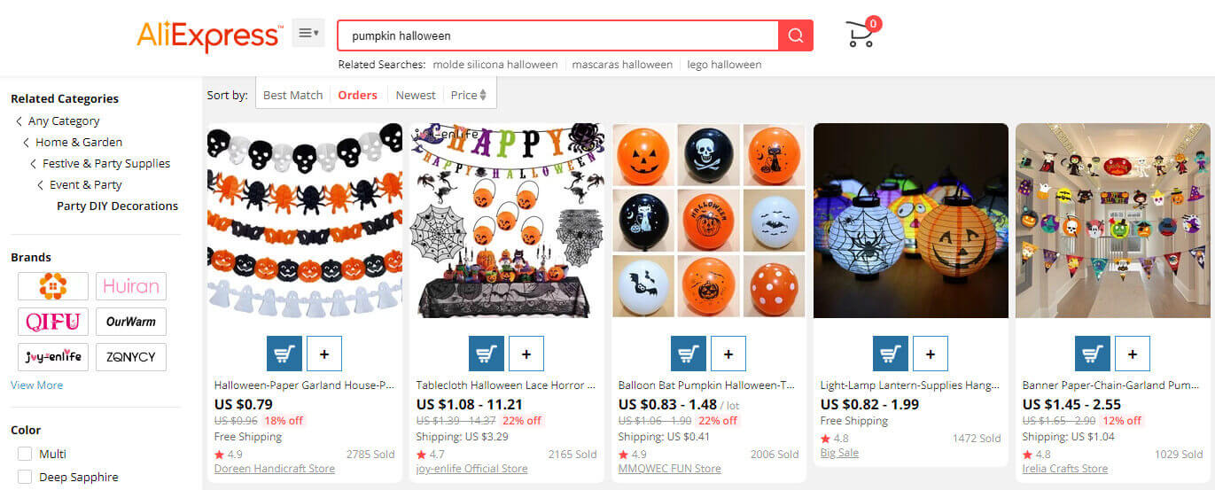 Pumpkin items | منتجات بأشكال اليقطين